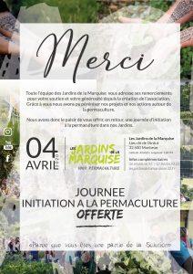 JOURNEE D'INITIATION A LA PERMACULTURE  I  Offerte @ les jardins de la Marquise