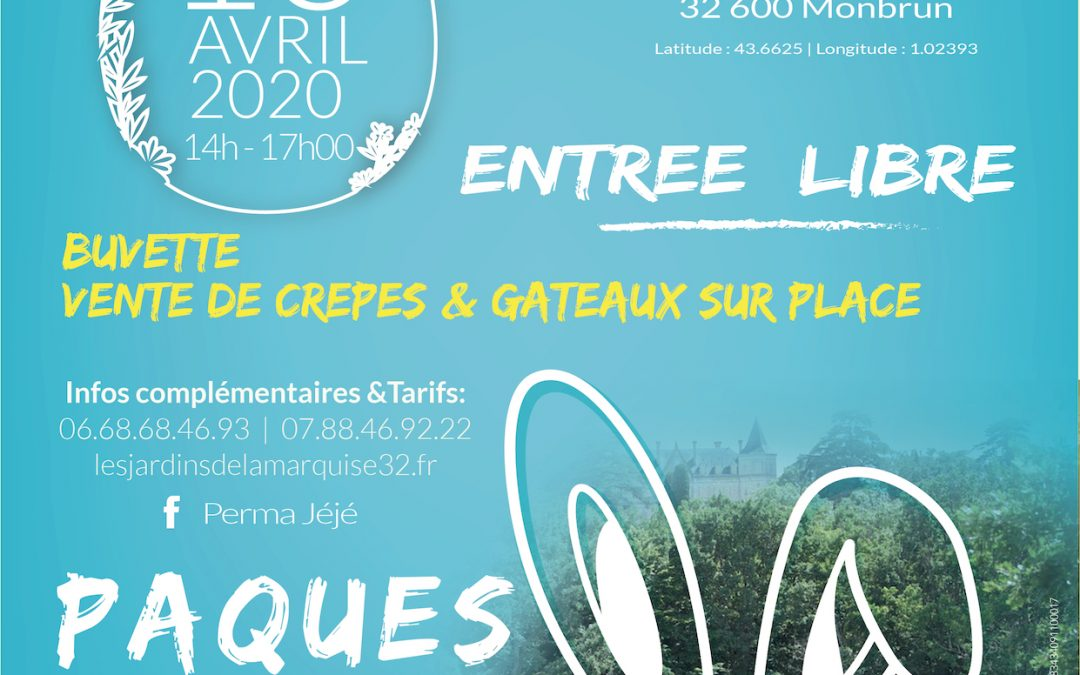 CHASSE AUX OEUFS  I  13 avril 2020