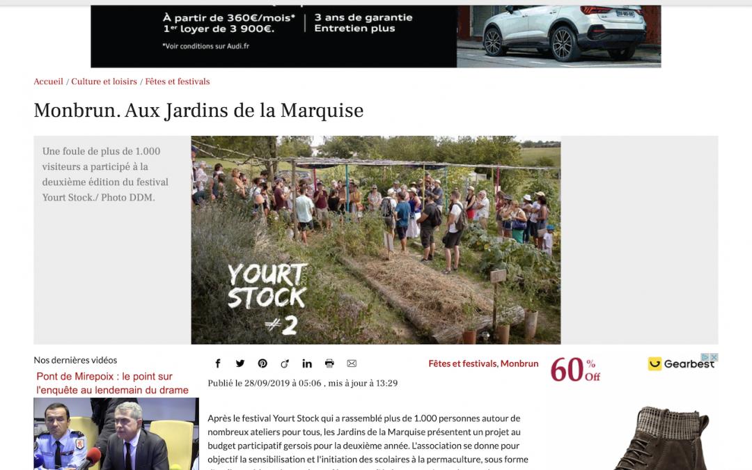 «Monbrun. Aux Jardins de la Marquise»