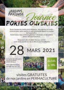 Visite gratuite des jardins @ LES JARDINS DE LA MARQUISE